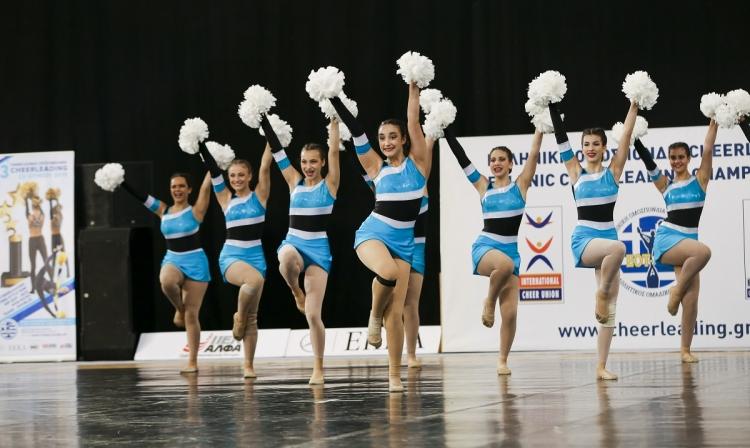 Επιτυχίες και διακρίσεις στο 3ο Πανελλήνιο Πρωτάθλημα Cheerleading