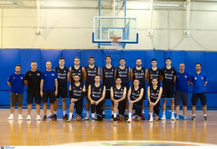 Η 12αδα της Εθνικής Νέων Ανδρών για το Ευρωπαϊκό