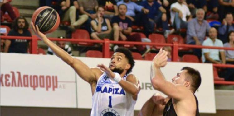 Ιστορική πρώτη νίκη με ωραίο μπάσκετ για την Λάρισα
