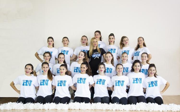Στηρίζουμε την Εθνική Cheerleading,  πιστεύουμε στο όνειρο!