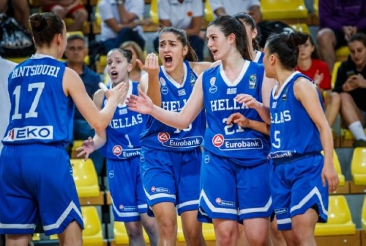 Εθνική Νεανίδων: Στη δεύτερη θέση η Ελλάδα