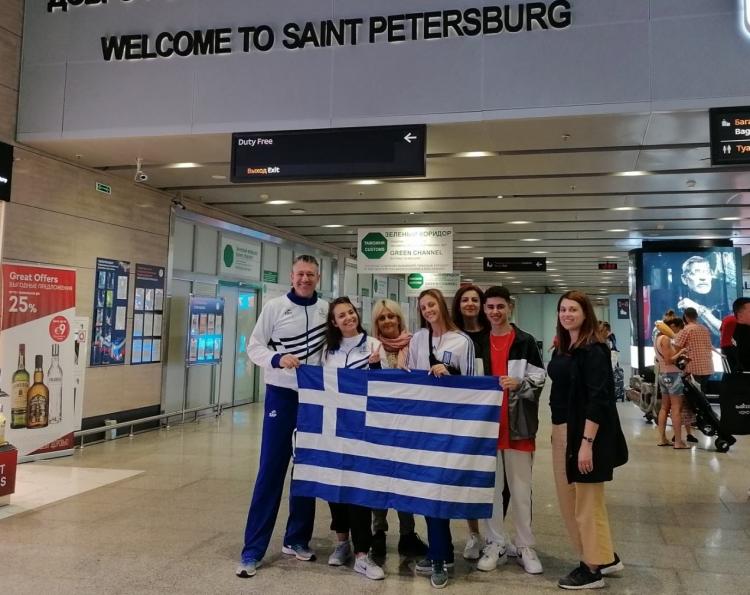 Στη Ρωσία για το Ευρωπαϊκό  η ελληνική αποστολή Cheerleading