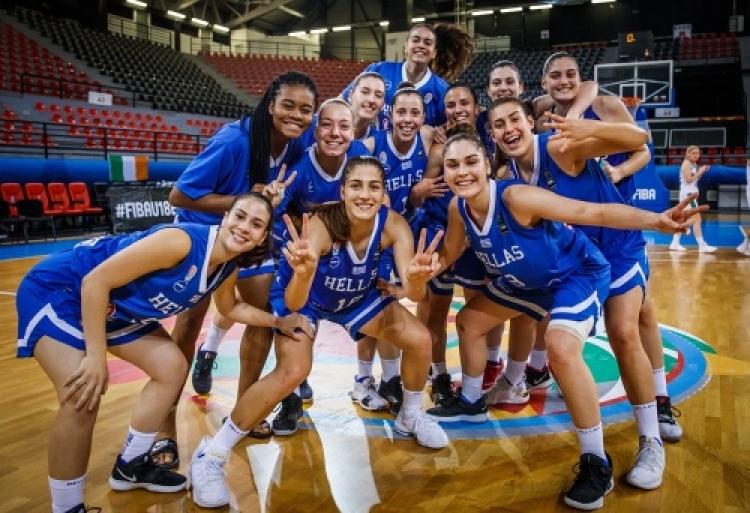 Εθνική Νεανίδων: Πρώτη στον όμιλο με πέντε στα πέντε
