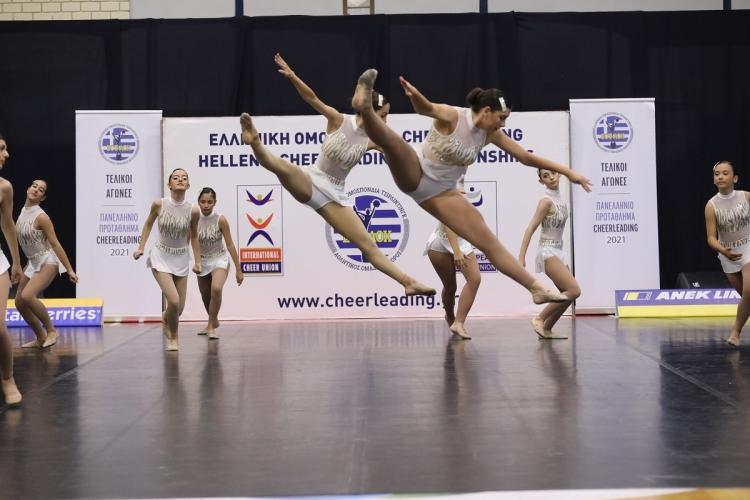 Cheer on Tour 2021: 5ο Πανελλήνιο Πρωτάθλημα Cheerleading