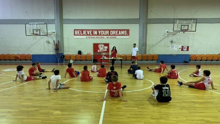 Ολυμπιακός: «Summer Workout» με διατροφικές συμβουλές