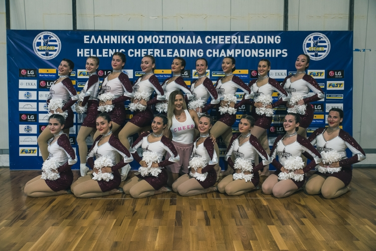 Οι Αμαζόνες στο Παγκόσμιο Πρωτάθλημα Cheerleading