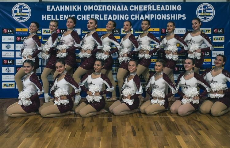 Πρόκριση των Αμαζόνων στο Ευρωπαϊκό και το Παγκόσμιο Πρωτάθλημα Cheerleading