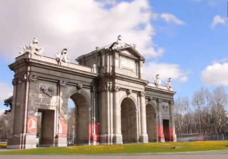 Euroleague: Σεργιάνι στις ομορφιές της Μαδρίτης (vid)