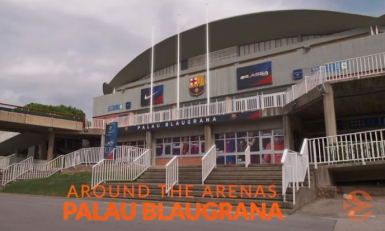 H Euroleague παρουσίασε το Palau Blaugrana της Βαρκελώνης (vid)
