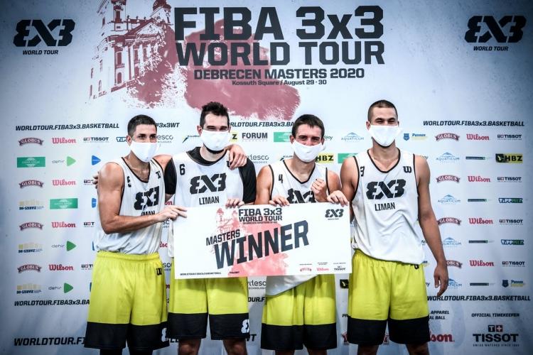 3x3 World Tour Europe Masters 2020: Οι Σέρβοι Liman τα κατάφεραν ξανά