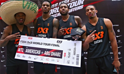 Η Chicago νικήτρια του FIBA 3x3 World Tour Americas Masters