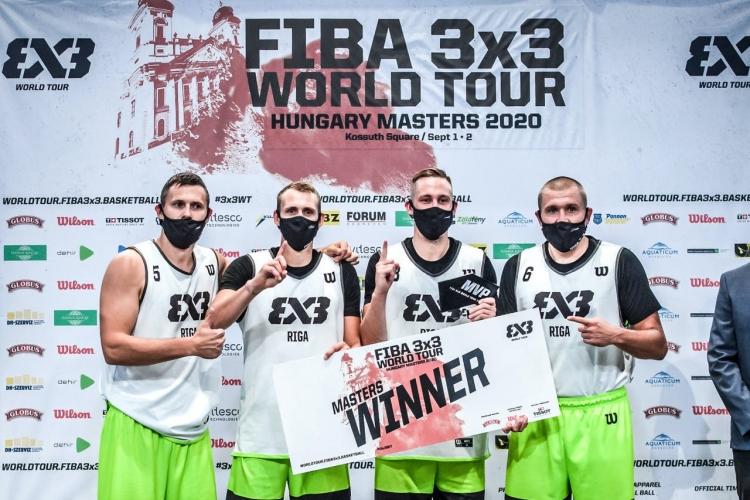 3x3 World Tour Hungary Masters 2020: Η Ρίγα νικήτρια του 2ου Τουρνουά