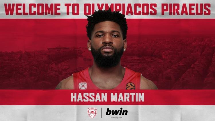 Ανακοινώθηκε ο Χασάν Μάρτιν από τον Ολυμπιακό
