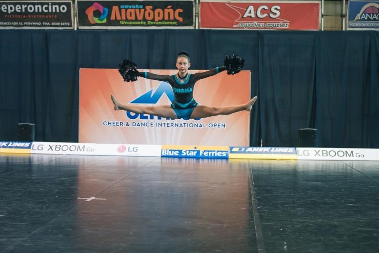 Ολοκληρώθηκε το 4ο Πανελλήνιο Πρωτάθλημα Cheerleading