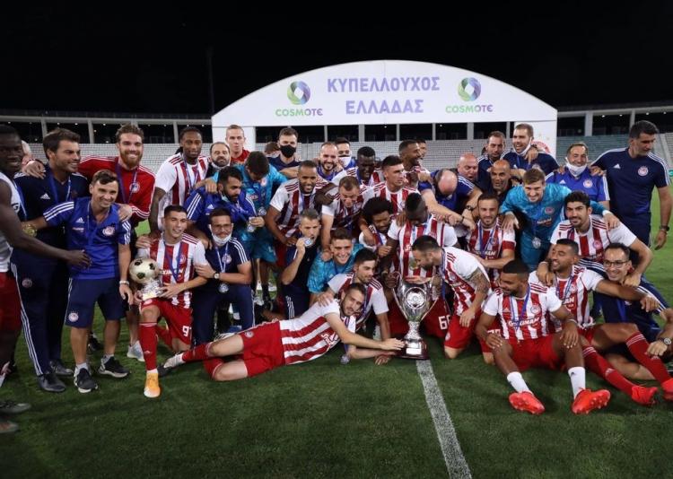 Συγχαρητήρια της ΚΑΕ Ολυμπιακός στο ποδοσφαιρικό τμήμα